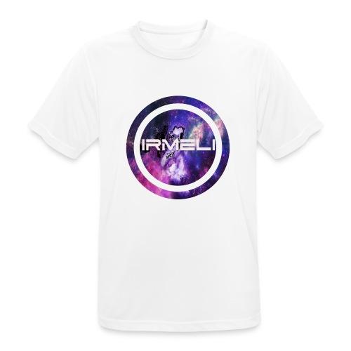 GALAXY LOGO - miesten tekninen t-paita