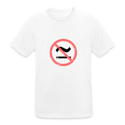The Commercial NO SMOKING (Salmon) - Men's Breathable T-Shirt