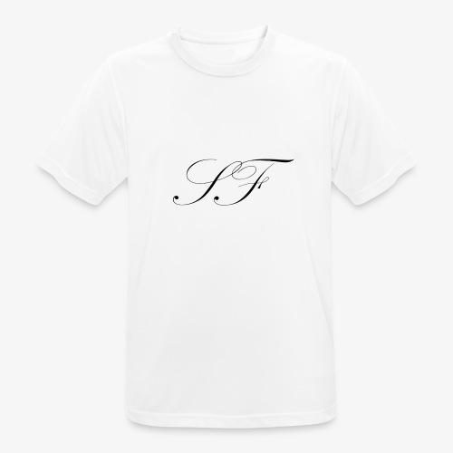 SF HANDWRITTEN LOGO BLACK - Men's Breathable T-Shirt