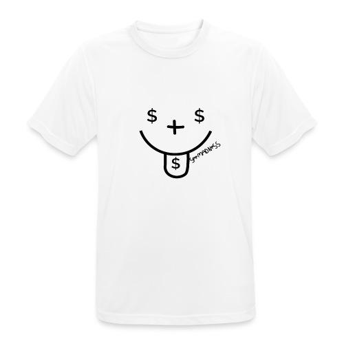 SeeMadness Money - Mannen T-shirt ademend actief