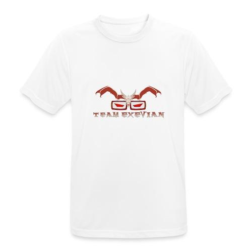 Logo speciale 1000 Iscritti con Scritta in Basso - Maglietta da uomo traspirante