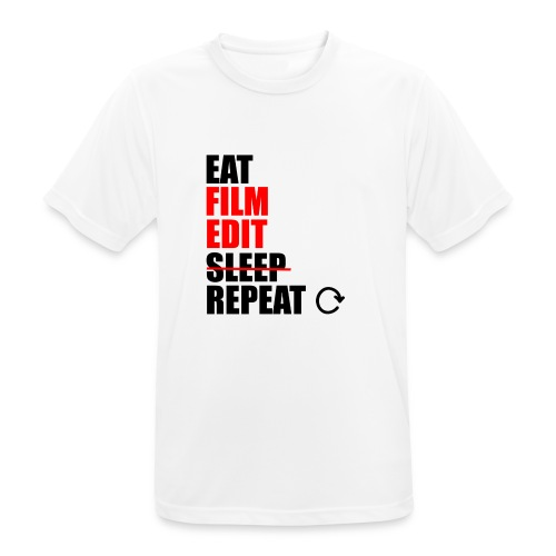 Life of a filmmaker - Männer T-Shirt atmungsaktiv