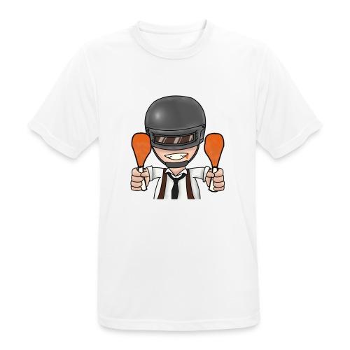CHICKEN DINNER - Men's Breathable T-Shirt
