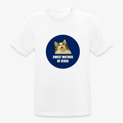 SWEETMOTHEROFJESUS - Men's Breathable T-Shirt