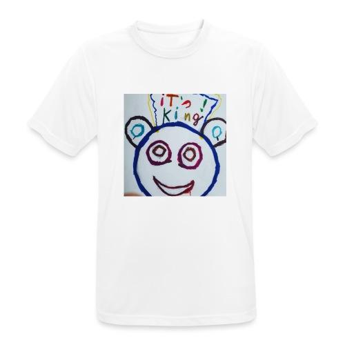 de panda beer - Mannen T-shirt ademend actief