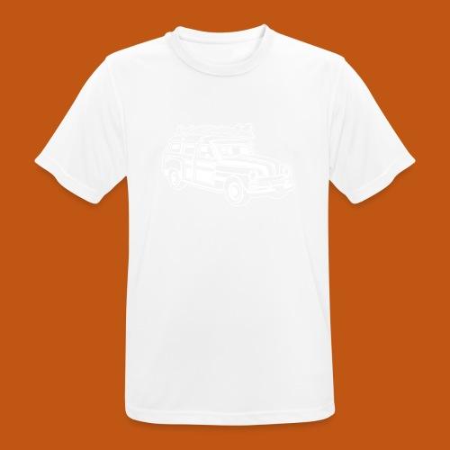 Chevy Cadilac Woodie / Oldtimer Kombi 01_weiß - Männer T-Shirt atmungsaktiv