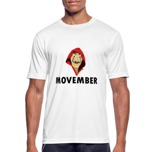 Le mois de la moustache - T-shirt respirant Homme
