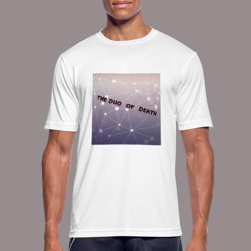 The duo of death logo - Mannen T-shirt ademend actief