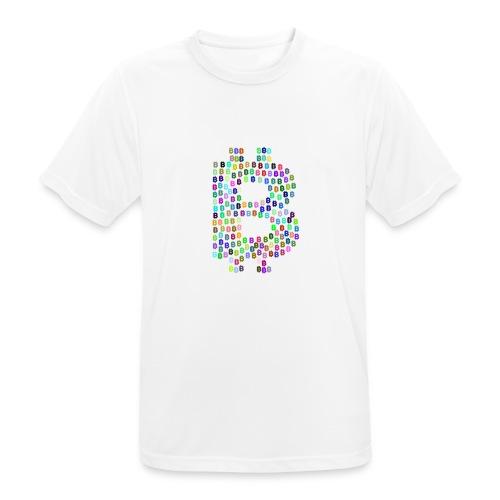 BITCOIN - Camiseta hombre transpirable