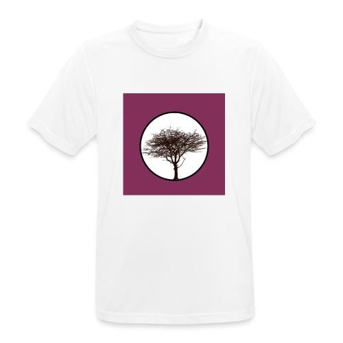Baum in Kreis - Männer T-Shirt atmungsaktiv