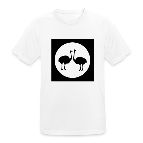 Strauß - Männer T-Shirt atmungsaktiv