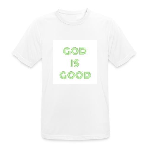 Dios es Bueno - Camiseta hombre transpirable