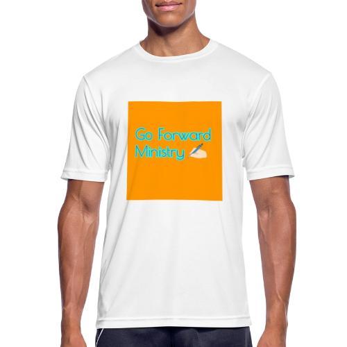 gå framåt ministeriet - Andningsaktiv T-shirt herr
