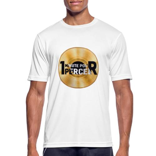 1 MINUTE POUR PERCER OFFICIEL - T-shirt respirant Homme