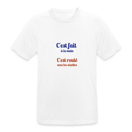 Roulé sous les aiselles - T-shirt respirant Homme