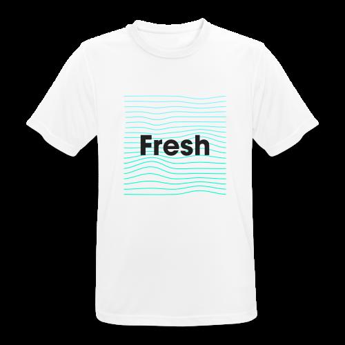 Fresh - noir - T-shirt respirant Homme