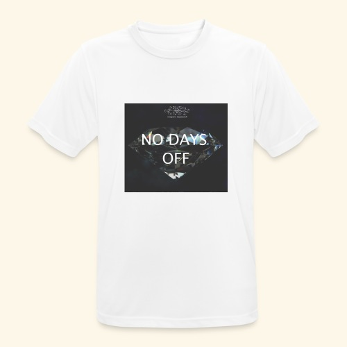 No Days Off - Maglietta da uomo traspirante