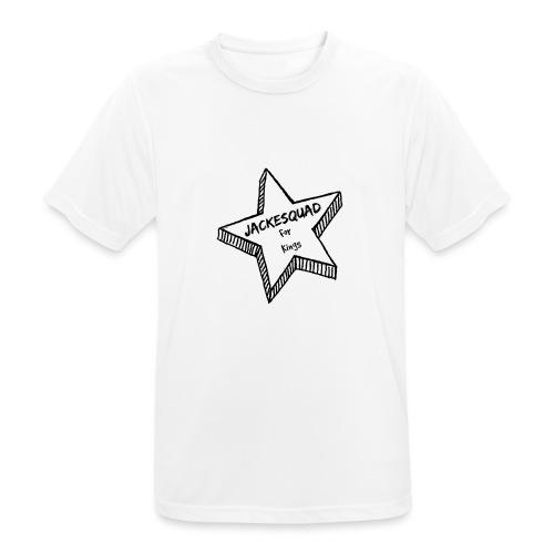 JACKESQUAD - Andningsaktiv T-shirt herr