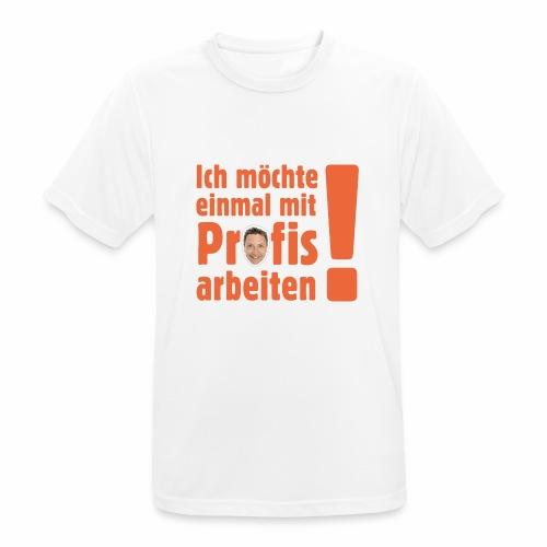 Profi Team Edition - Männer T-Shirt atmungsaktiv