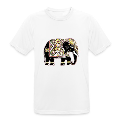 Indian elephant for luck - Men's Breathable T-Shirt