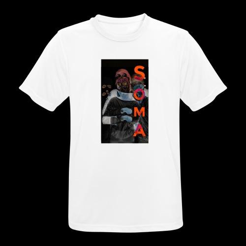 S O M A // Design - mannen T-shirt ademend