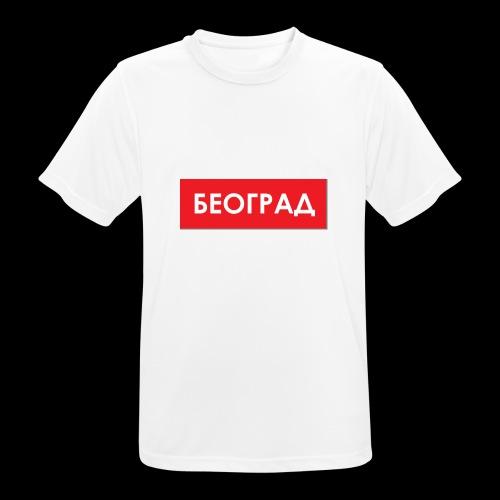 Beograd - Utoka - Männer T-Shirt atmungsaktiv