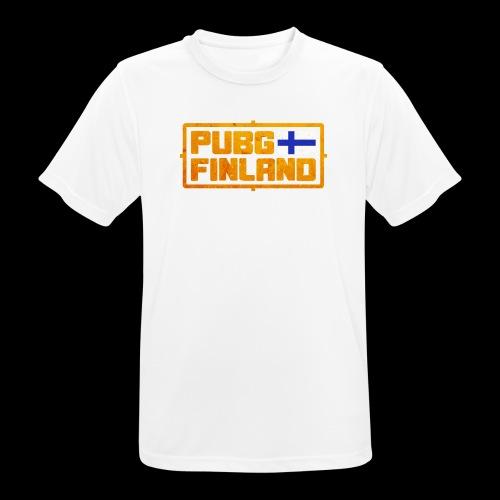 PUBG Finland - miesten tekninen t-paita