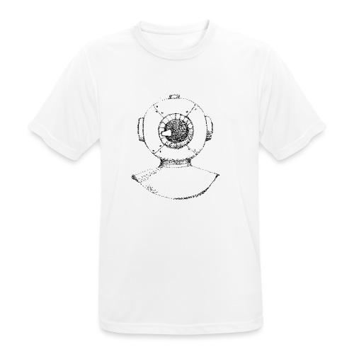 nautic eye - Mannen T-shirt ademend actief