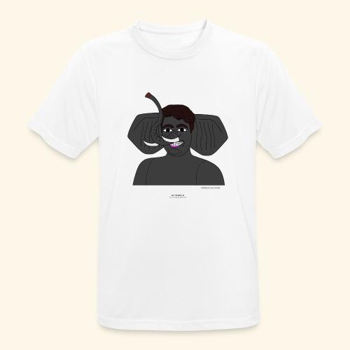 Andrea elefante - Maglietta da uomo traspirante