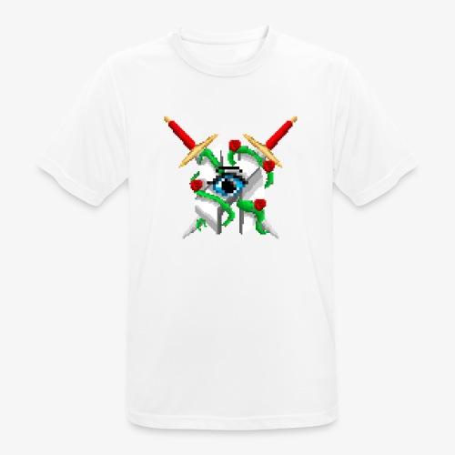 Hault Swords & Roses - Men's Breathable T-Shirt