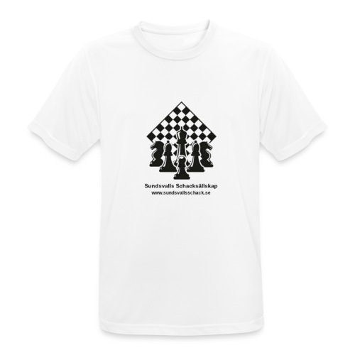 Sundsvalls Schacksällskap - Andningsaktiv T-shirt herr