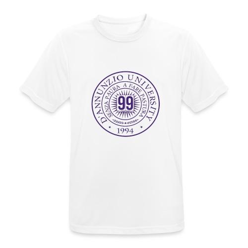 99 COSSE LOGO - Maglietta da uomo traspirante