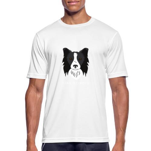 Border Collie - Maglietta da uomo traspirante