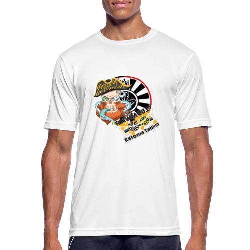 pirate of the estonian back - Männer T-Shirt atmungsaktiv