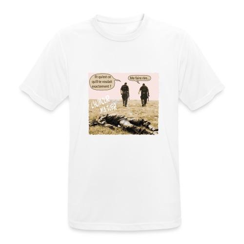 L'humour m'a tuer - T-shirt respirant Homme