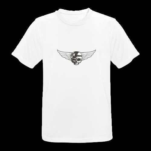 Biker skull - Men's Breathable T-Shirt