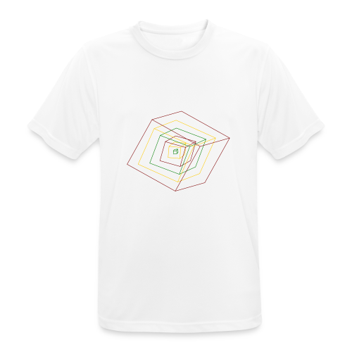 Rasta Cubes - T-shirt respirant Homme