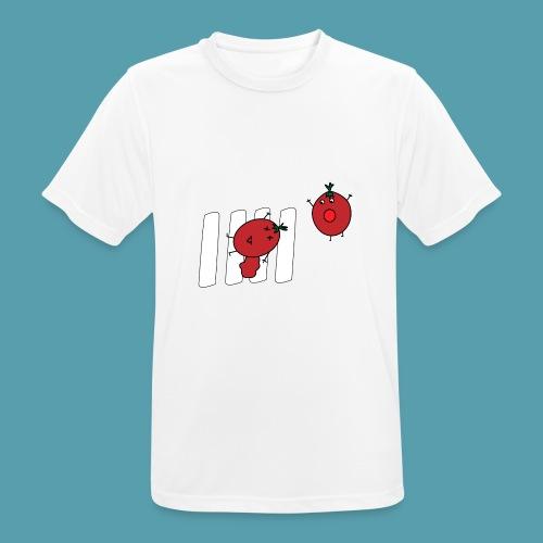 tomaatit - miesten tekninen t-paita