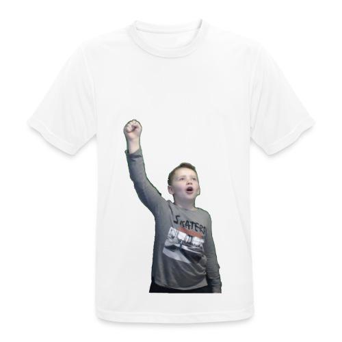 Kenti drar til verdensrommet - Pustende T-skjorte for menn