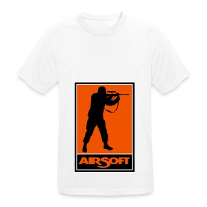 airsoft - Camiseta hombre transpirable