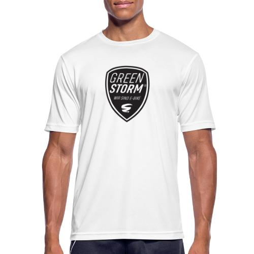 GS Wir sind E-Bike mit Tornado - Männer T-Shirt atmungsaktiv