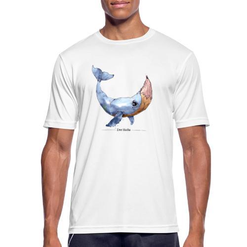 Wal-Stift (Der Holle) - Männer T-Shirt atmungsaktiv
