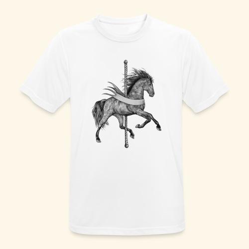 Carousel Horse - Men's Breathable T-Shirt