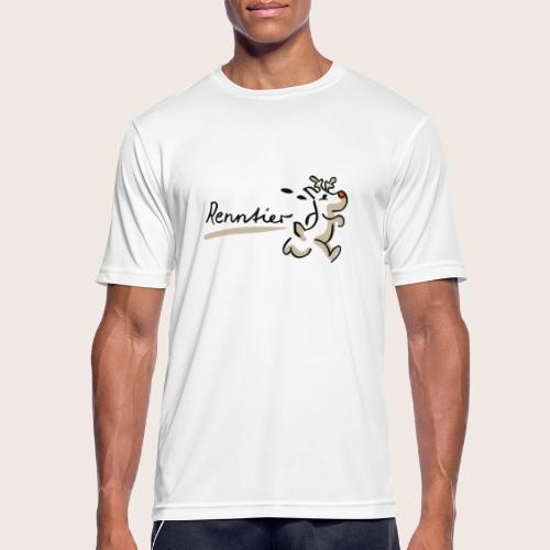 Runtasia Renntier - Männer T-Shirt atmungsaktiv