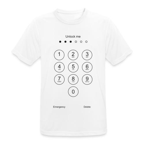 Unlock Me - Mannen T-shirt ademend actief