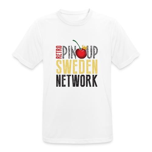 Tanktop Retro Pinup Sweden Crew utsvängd - Andningsaktiv T-shirt herr
