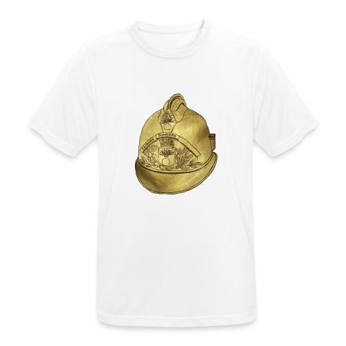Casque pompier - T-shirt respirant Homme