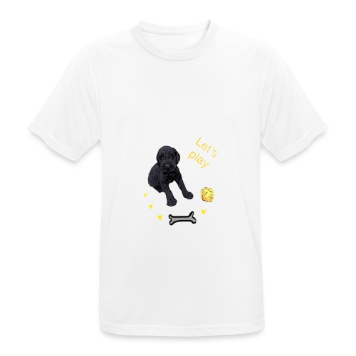 Giant Schnauzer puppy - Men's Breathable T-Shirt