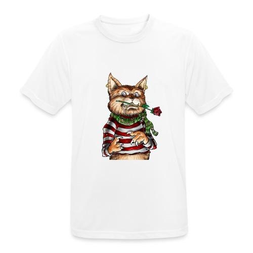 T-shirt - Crazy Cat - T-shirt respirant Homme