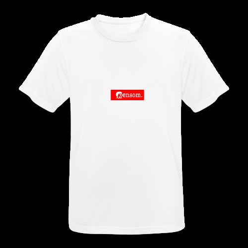 Ensom - Pustende T-skjorte for menn